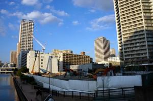 港南三丁目 日通品川流通センター解体工事