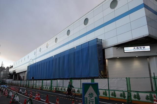 「京急大森駅」再開発 2014.1.26