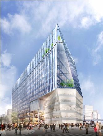 (仮称)銀座5丁目プロジェクト イメージ図