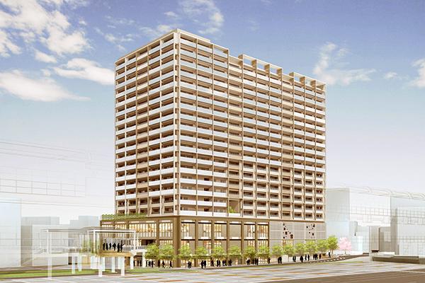 京急蒲田西口駅前地区第一種市街地再開発事業