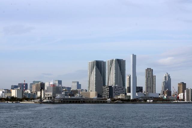 晴海埠頭 2014.2.28