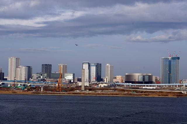 「豊洲新市場」「スカイズタワー&ガーデン(SKYZ TOWER & GARDEN)」 2014.2.28