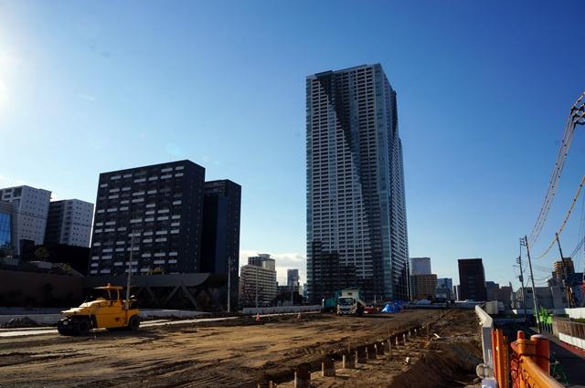 「環状二号線」 晴海  2014.3.21