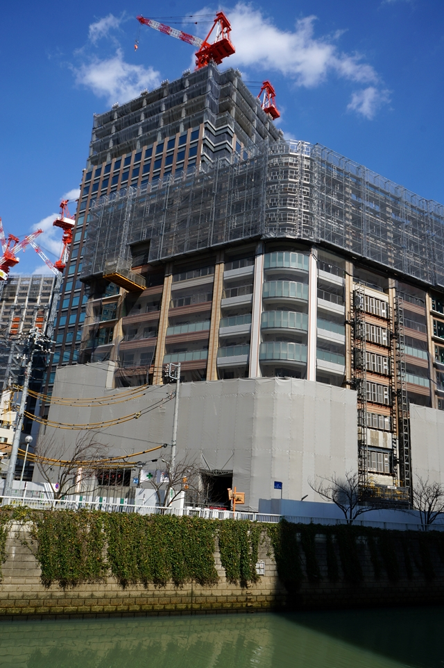 「北品川五丁目第一地区 高層住宅棟(A2棟)」 2014.3.23