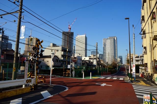 「環状第5の1号線」(豊島区雑司が谷) 2014.3.15
