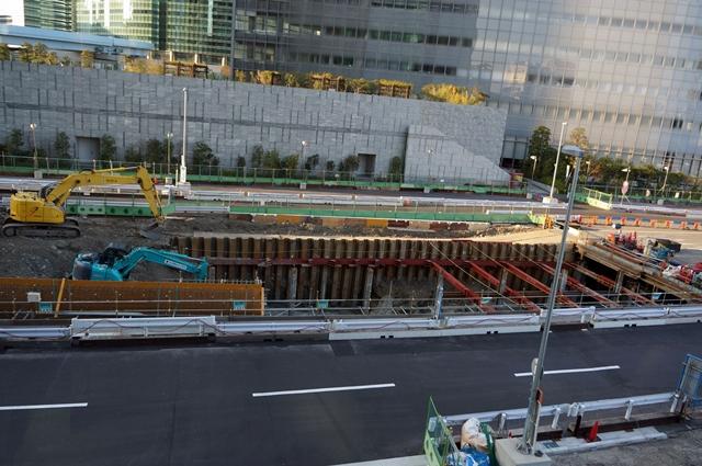 「環状二号線」 汐留ランプ 2014.3.24
