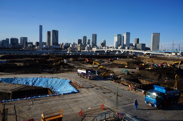 「豊洲新市場 6街区」 2014.3.21