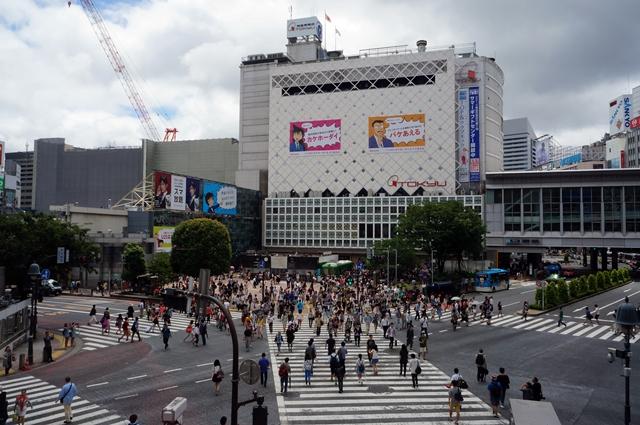 渋谷ハチ公前 2014.6.29