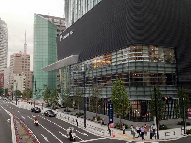 「虎ノ門ヒルズ」  ホテル付近 2014.6.10