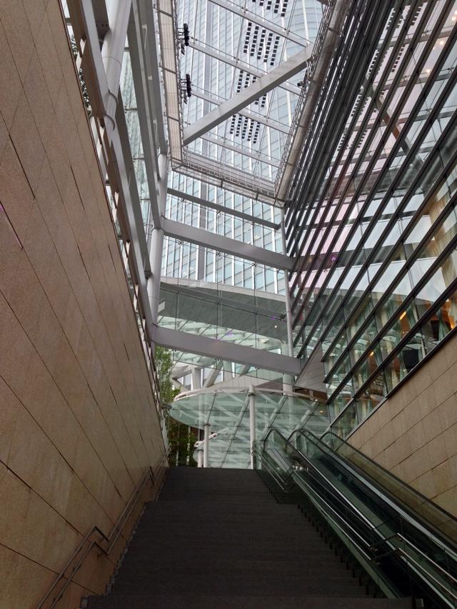 「虎ノ門ヒルズ」  ガーデンハウス付近 2014.6.10