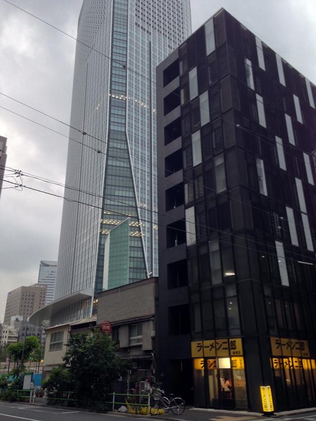 ラーメン二郎  新橋店 2014.6.10