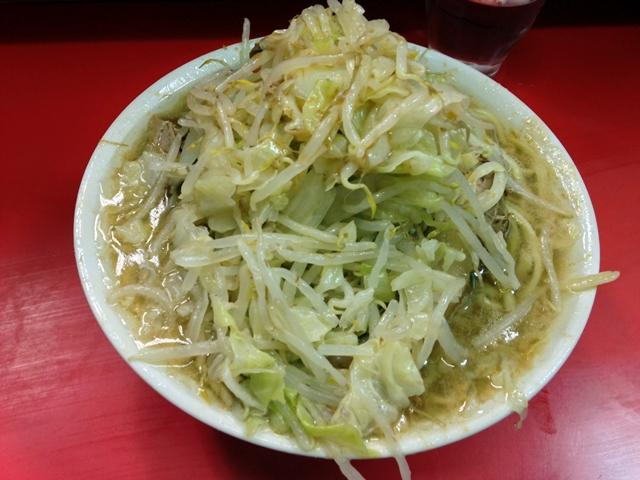 ラーメン二郎三田本店 2014.6.20