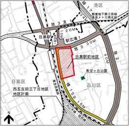 目黒駅前地区第一種市街地再開発