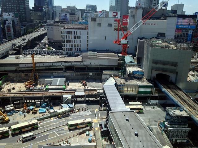 「渋谷駅地区駅街区開発計画 東棟」 2014.8.6