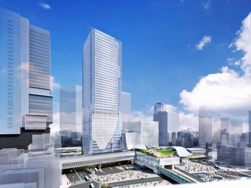 渋谷駅街区東棟 イメージ図
