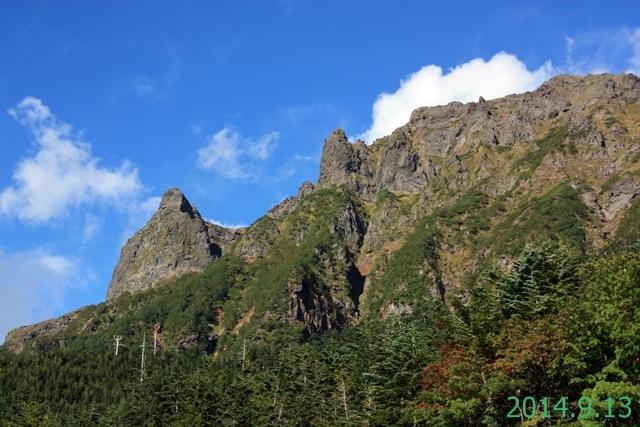 横岳 (Mt. Yokodake) 2,829m 2014.9.13