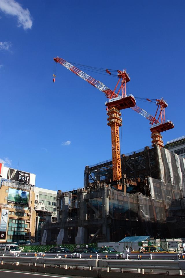 「新宿駅新南口開発ビル」 2014.9.14