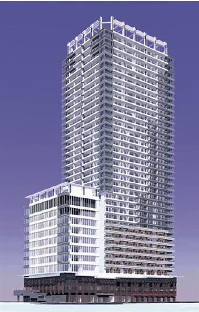 「浜松町一丁目地区市街地再開発事業」 イメージ図