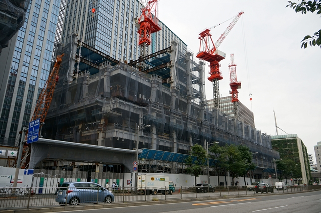「(仮称)新鉄鋼ビル」 2014.10.4