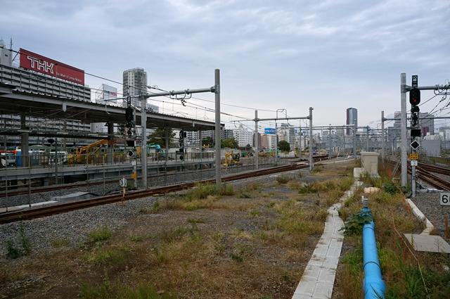 JR山手線新駅工事 2014.11.2