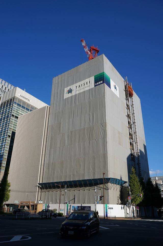 (仮称)新・京橋MIDビル計画 2014.11.15