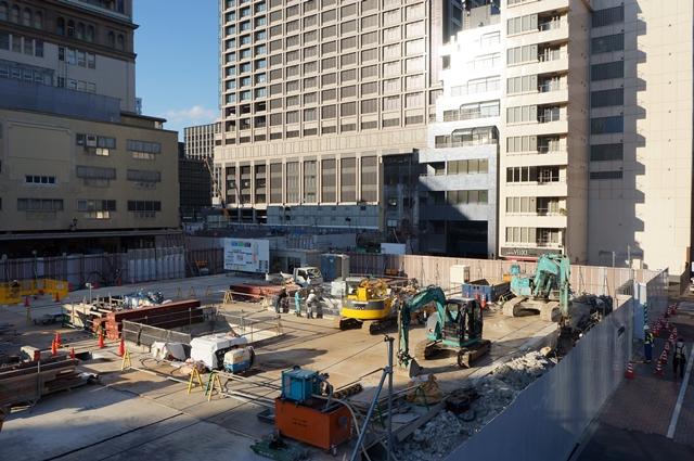 日本橋二丁目地区第一種市街地再開発事業 A街区 2014.11.15