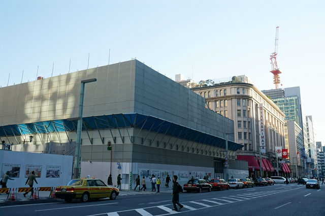 日本橋二丁目地区第一種市街地再開発事業 C街区 2014.11.15