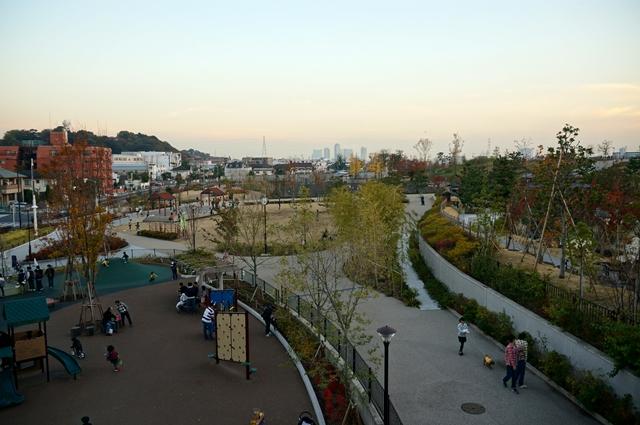二子玉川公園 遊具の遊び場 2014.11.22