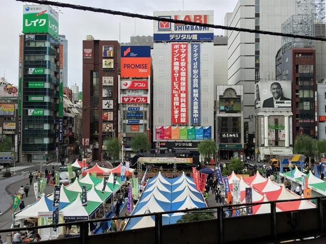 新橋駅前再開発エリア SL広場 2014.11.6