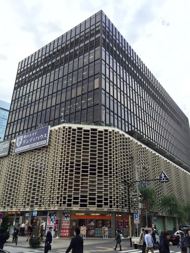 新橋駅前再開発エリア ニュー新橋ビル 2014.11.6