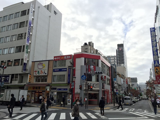 新橋駅前再開発エリア 桜田公園周辺部 2014.11.6