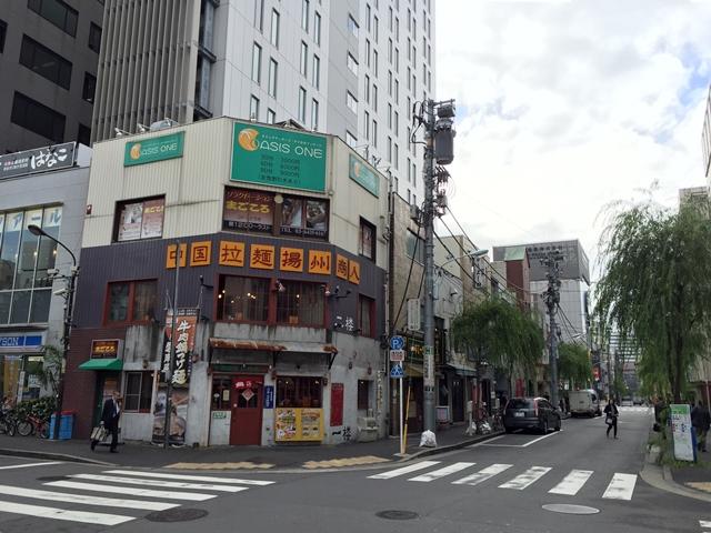 新橋駅前再開発エリア 環状二号線側の区画 2014.11.6