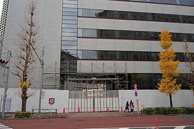 ソニー旧本社ビル 解体工事 2014.12.21