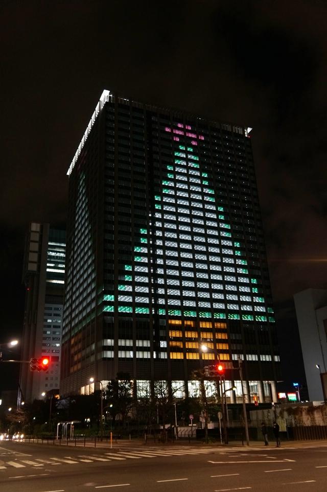 品川シーズンテラス クリスマスツリー 2014.12.25