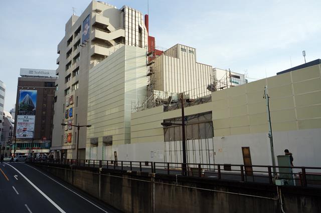 西武鉄道池袋ビル建替え工事 2014.12.28