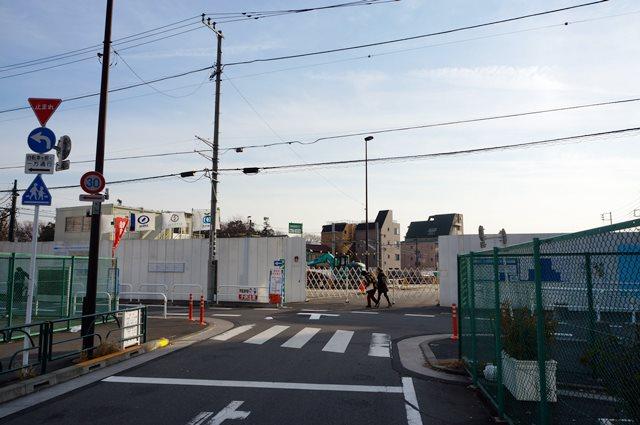 環状第5の1号線地下道路荒川線併行部建設工事 2014.12.28