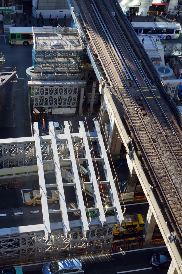銀座線渋谷駅 新ホーム 2015.1.12