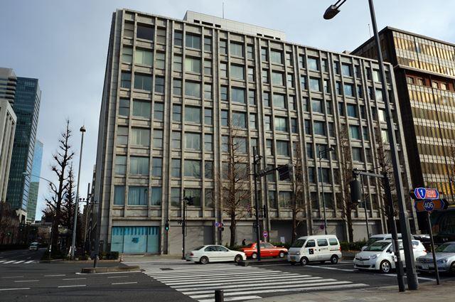 「(仮称)丸の内3-2計画」 東京商工会議所ビル 2015.1.17