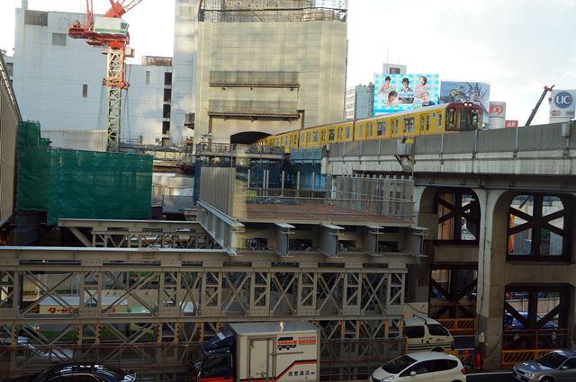 渋谷駅東口工事 2015.1.17