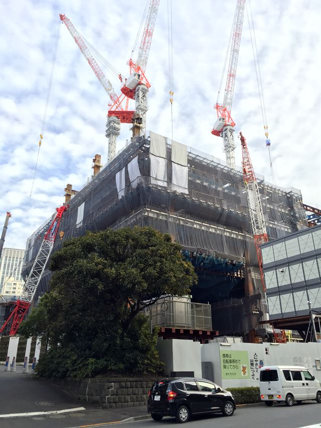 「東京ガーデンテラス」 2015.1.14