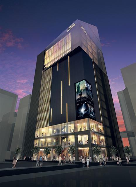 東池袋1丁目新シネマコンプレックスプロジェクト (出典:建設通信新聞)