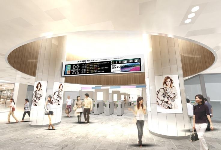 西武池袋駅 イメージ図(出典:東洋経済)