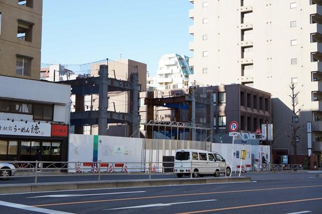 「アパホテル〈品川 泉岳寺駅前〉」 2015年1月中旬