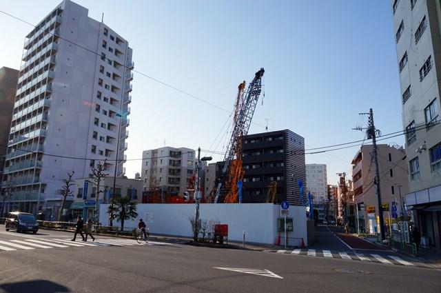 「(仮称)港区三田5丁目計画」 2015年2月中旬