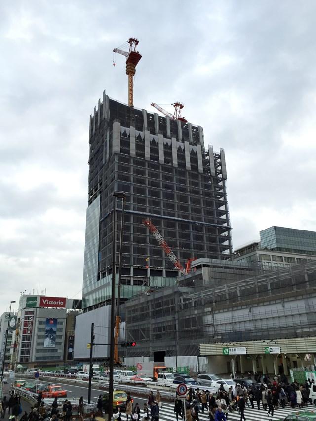 新宿駅南口 2015.2.7