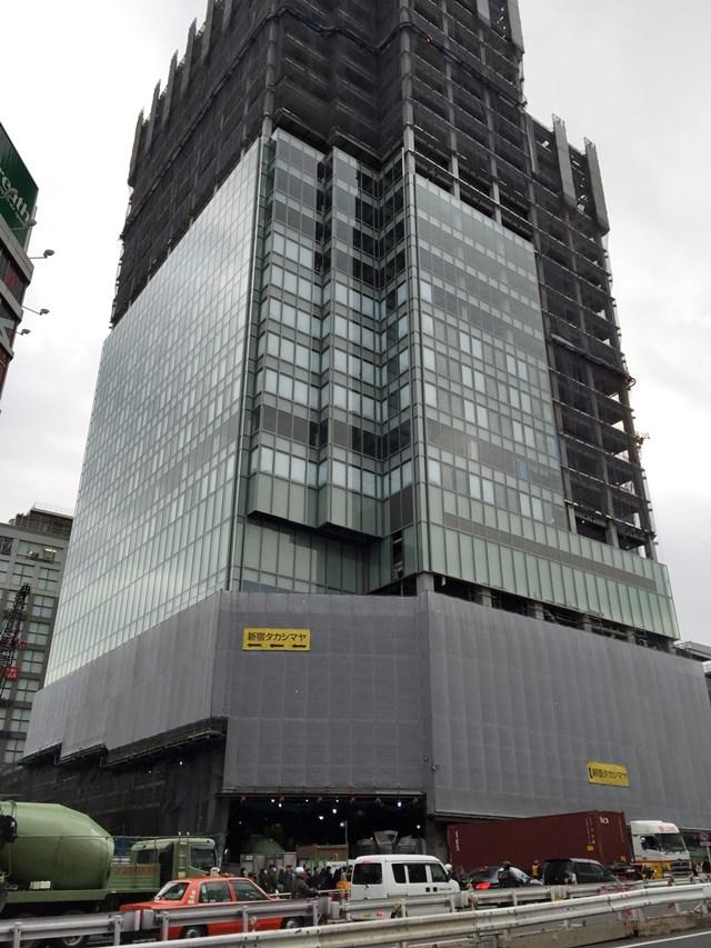 「新宿駅新南口開発ビル」 2015.2.7