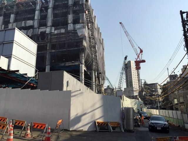 「六本木三丁目東地区第一種市街地再開発事業」 2015年2月中旬