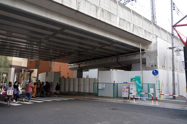 武蔵小杉 ガード下 2015.3.22