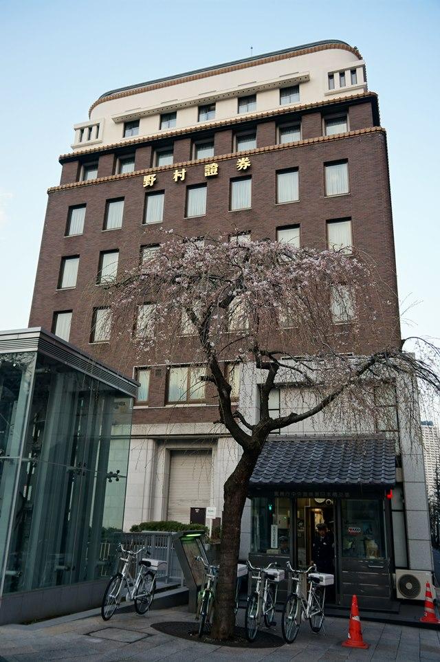日本橋の桜 2015.3.22