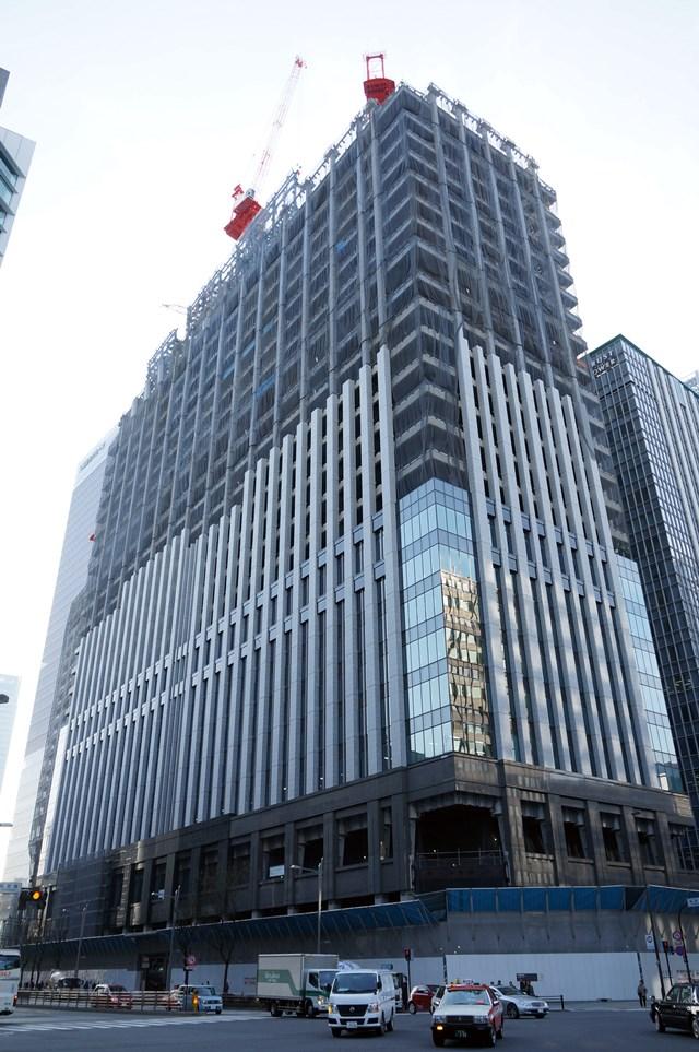 「(仮称)新鉄鋼ビル」 2015年2月下旬